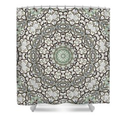 Kaleidoscope O Seventy Shower Curtain