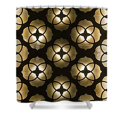 Shower Curtain featuring the photograph Kaleidoscope Wall by April Reppucci