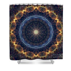 Kaleidoscope Zero Fifty Nine Shower Curtain