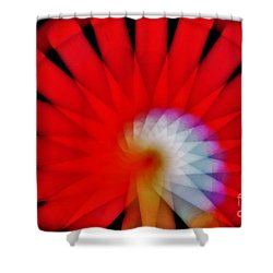 Kaleidoscope6 Shower Curtain