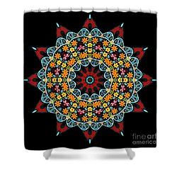 Shower Curtain featuring the digital art Kali Kato - 12 by Aimelle
