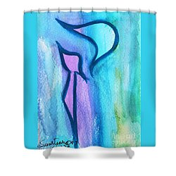 Kalm Kuf Shower Curtain