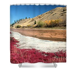 Kamloops Autumn Shower Curtain