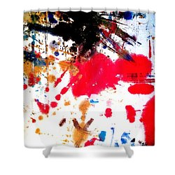 Kamor Abstract Shower Curtain