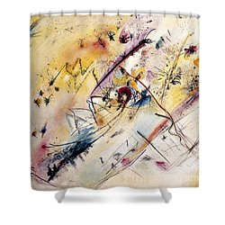 Kandinsky: Light, 1913 Shower Curtain by Granger