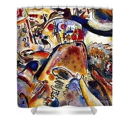 Kandinsky Small Pleasures Shower Curtain by Granger