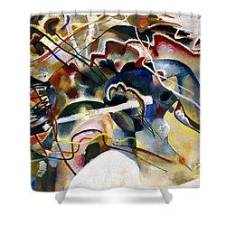 Kandinsky: White, 1913 Shower Curtain by Granger