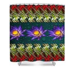 Kangaroo Paw Heaven Shower Curtain by Gary Crockett