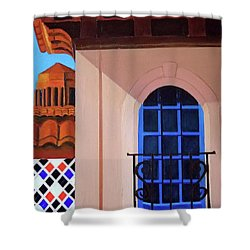 Kansas City Country Club Plaza Shower Curtain