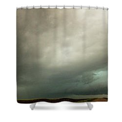 Kansas Storm Chase Bust Day 001 Shower Curtain
