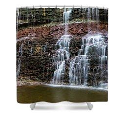 Kansas Waterfall 3 Shower Curtain by Jay Stockhaus