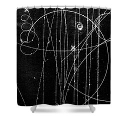 Kaon Proton Collision Shower Curtain