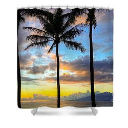 Shower Curtain featuring the photograph Kapalua Dream by Kelly Wade