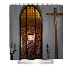 Kaplica Shower Curtain