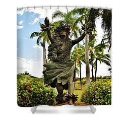 Shower Curtain featuring the photograph Kapo by Craig Wood