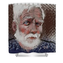 Kare Shower Curtain by Jim Vance