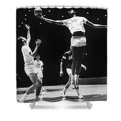 Kareem Abdul Jabbar (1947-) Shower Curtain by Granger