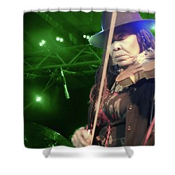 Karen Briggs 2017 Hub City Jazz Festival - Transcendant Shower Curtain