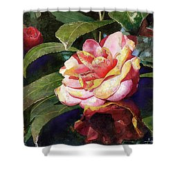 Karma Camellia Shower Curtain