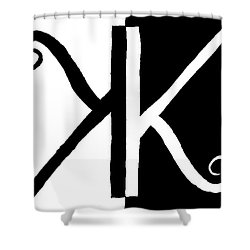 Karma Shower Curtain by David S Reynolds