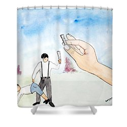 Karma Shower Curtain