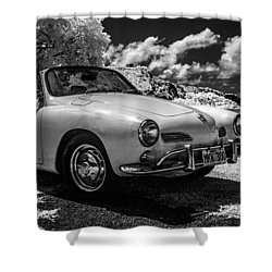 Karmann Ghia Shower Curtain