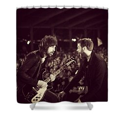 Kasabian Shower Curtain by Stew Lamb