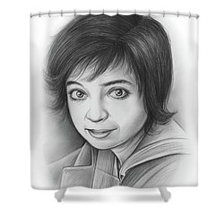 Kate Micucci Shower Curtain