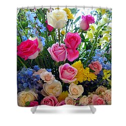 Kate's Flowers Shower Curtain