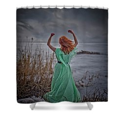 Katharsis Series 3/3 Release Shower Curtain by Agnieszka Mlicka