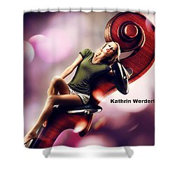 Kathrin Werderitsch Shower Curtain