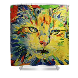 Minina Shower Curtain by Koro Arandia