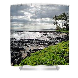 Kauai Afternoon Shower Curtain