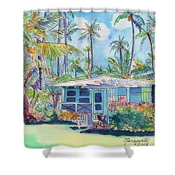 Kauai Blue Cottage 2 Shower Curtain