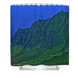 Kauai  Napali Coast State Wilderness Park Shower Curtain