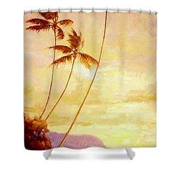 Kauai Sunset Shower Curtain by Jenifer Prince