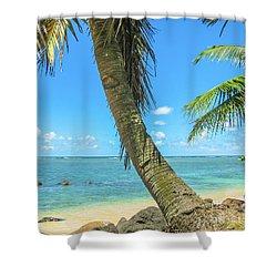 Kauai Tropical Beach Shower Curtain
