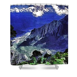 Kauai Valley Shower Curtain by Dennis Cox