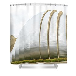 Kauffman Center Performing Arts Shower Curtain by Pamela Williams