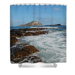 Kaupo Beach Shower Curtain by Michael Peychich