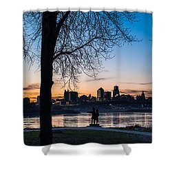 Kaw Point Park Shower Curtain