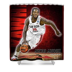 Kawhi Shower Curtain