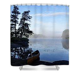 Kawishiwi Morning Shower Curtain