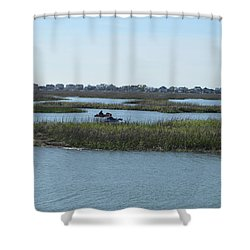 Kayakers Shower Curtain