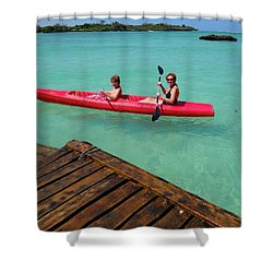 Kayaking Perfection 1 Shower Curtain