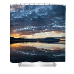Kayla's Sunset Shower Curtain