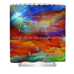 Kaypacha August 17,2016 Shower Curtain