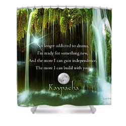 Kaypacha - November 10, 2016 Shower Curtain