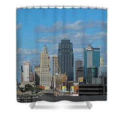 Kc Is Booming Shower Curtain