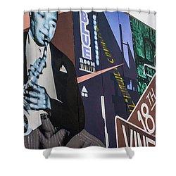 Kc Mural 1 Shower Curtain